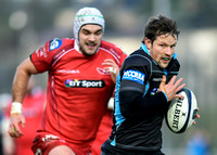 2015/12/12 - Glasgow Warriors vs Llanelli Scarlets - European Rugby Champions Cup