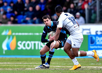 Glasgow Warriors vs Cardiff Blues - Guinness Pro12