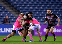 Edinburgh Rugby vs Stade Francais - European Rugby Challenge Cup