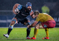 2015/01/09 - Glasgow Warriors vs Llanelli Scarlets - Guinness Pro12
