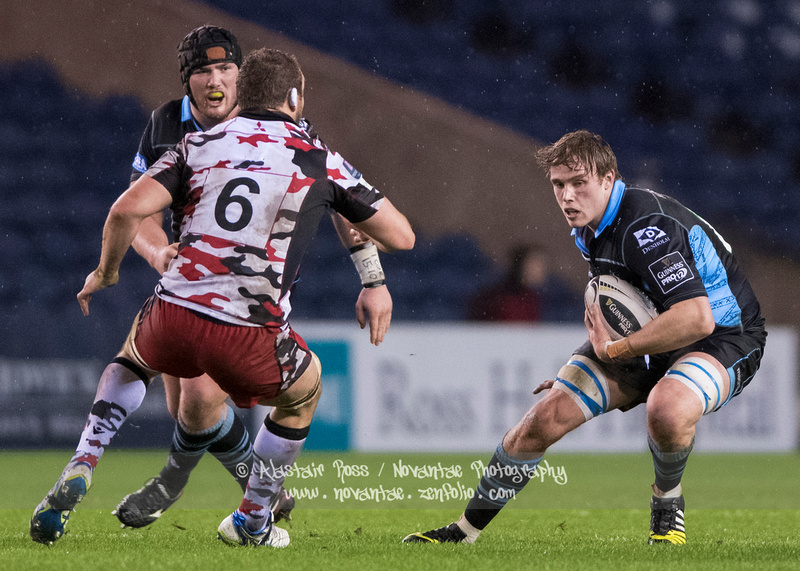 Glasgow Warriors vs Edinburgh Rugby - 1872 Cup